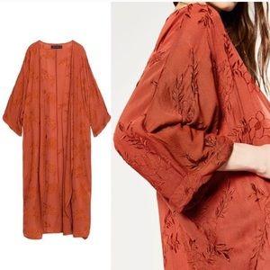 Zara woman kimono